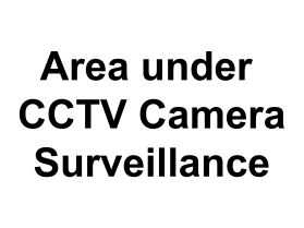 Area under cctv surveillance sign v2