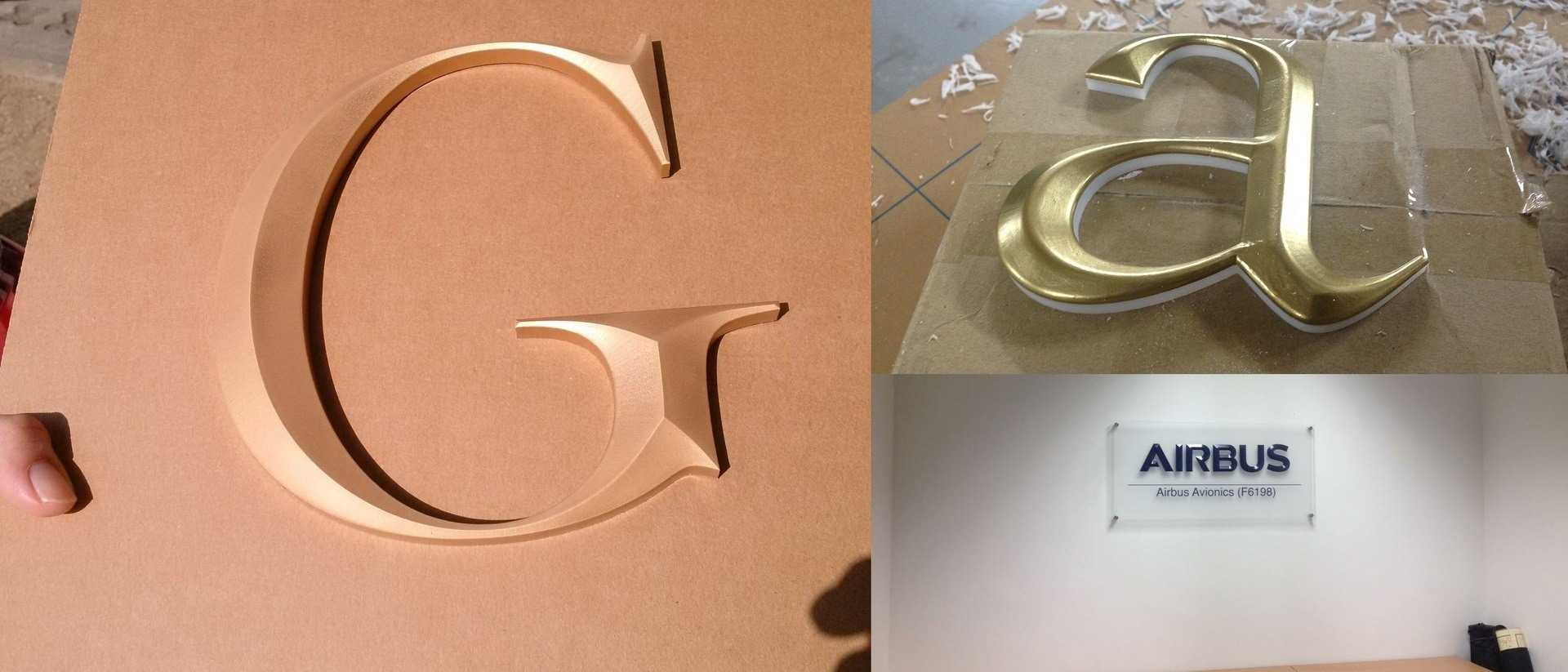 Prismatic acrylic letters
